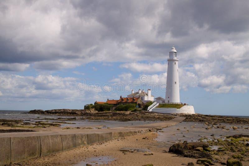 latarni morskiej Mary s st obraz stock