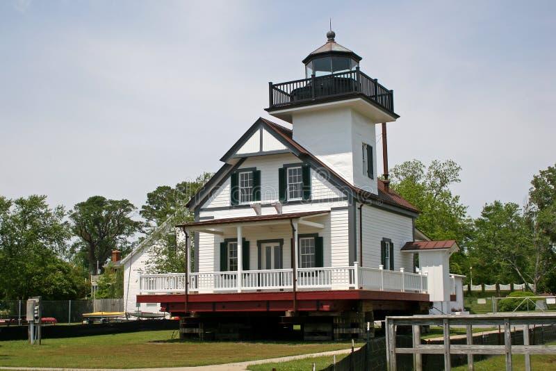 latarni morskiej rzeka Roanoke zdjęcie stock