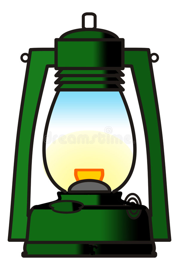 latarnia royalty ilustracja