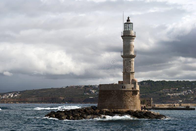 latarnia morska śródziemnomorska zdjęcie royalty free