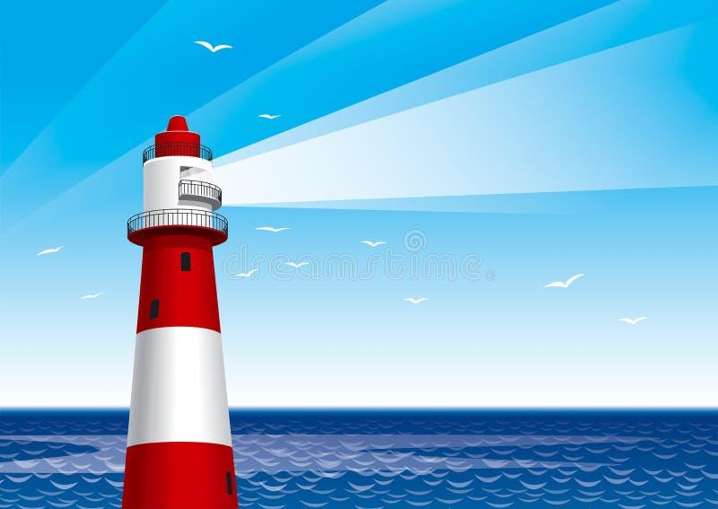 latarnia morska royalty ilustracja
