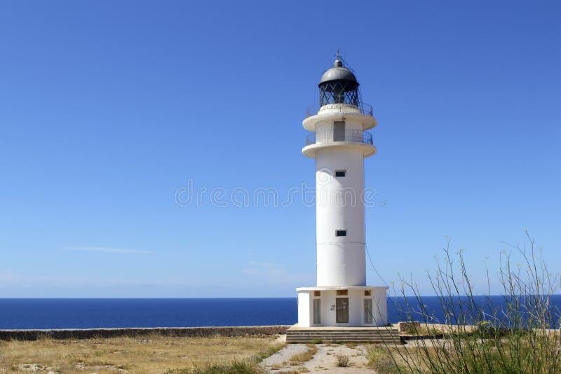 latarnia morska barbaria Formentera wysp latarnia morska obrazy royalty free