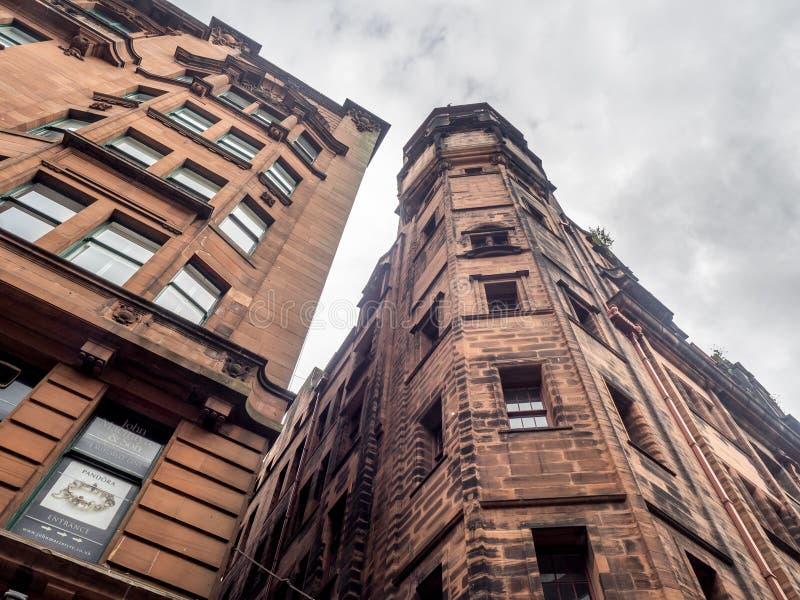 Latarnia morska, Glasgow obraz royalty free