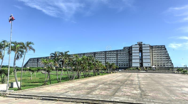 Latarnia morska Kolumb, Santo - Domingo, republika dominikańska obrazy stock