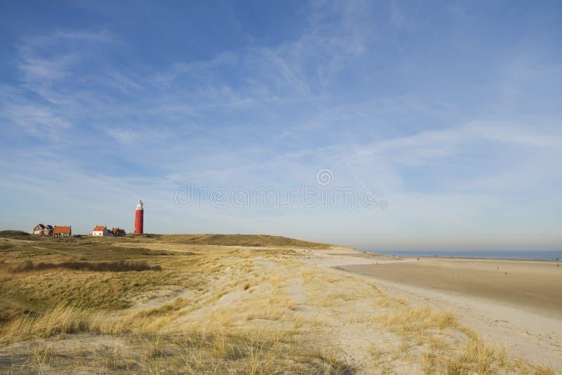 latarnia morska krajobrazowa zdjęcia stock