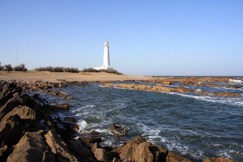 Latarnia morska, los angeles Paloma, Urugwaj zdjęcia stock