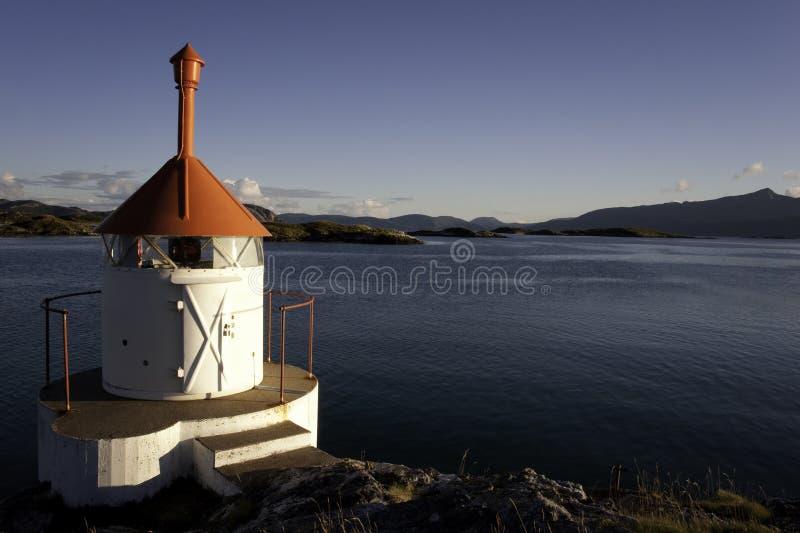 latarnia morska mały Norway zdjęcia royalty free
