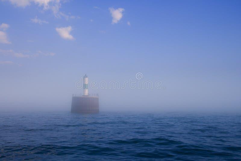 latarnia morska mgły obrazy royalty free