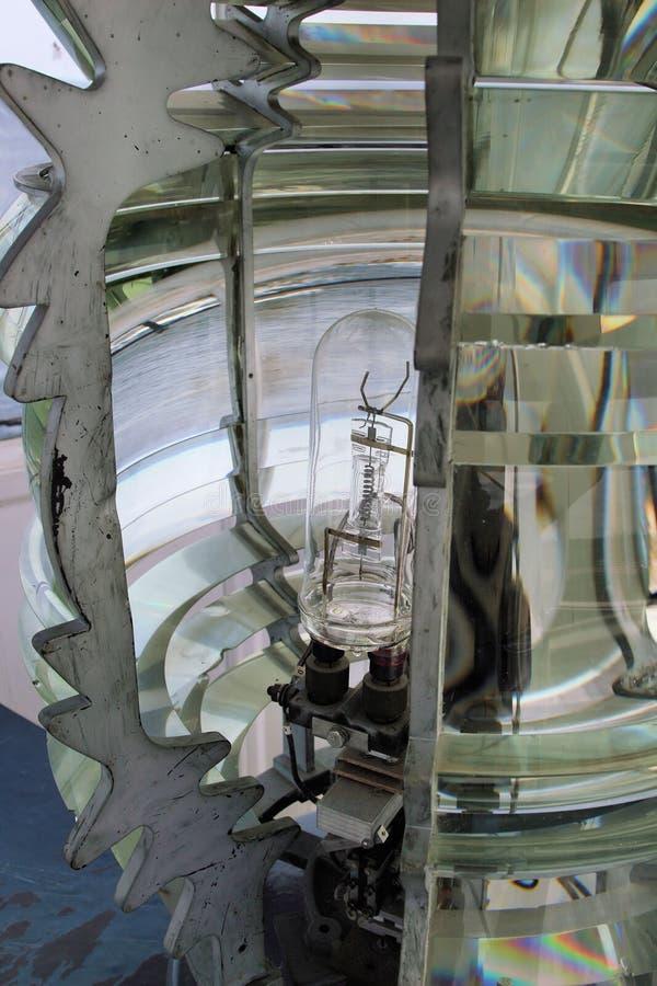 latarnia morska obiektywu zdjęcia stock