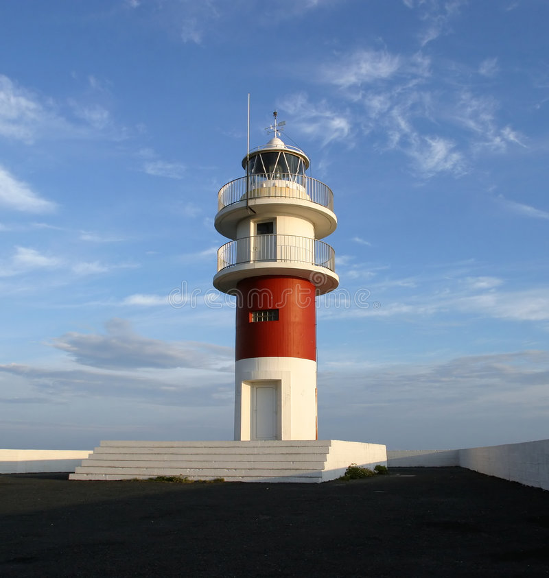 latarnia morska północnej Hiszpanii obrazy royalty free