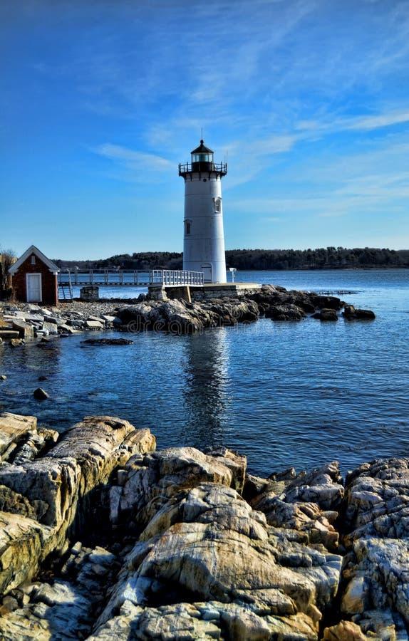 latarnia morska Portsmouth obraz stock