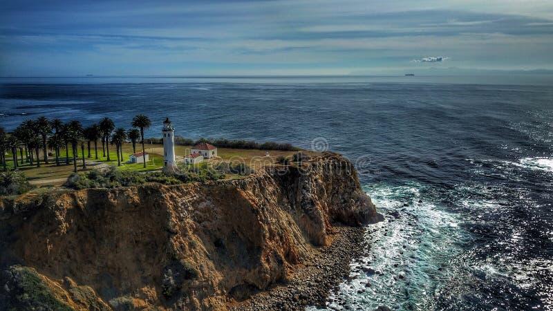latarnia morska punkt Vicente obrazy stock