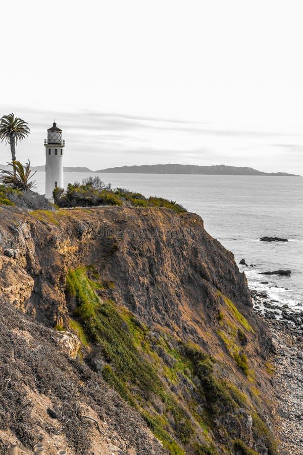 latarnia morska punkt Vicente fotografia royalty free