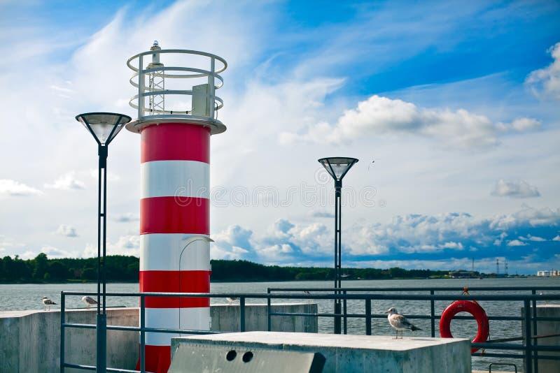 latarnia morska trochę obraz stock