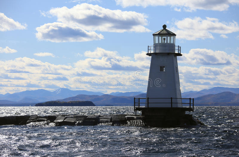 latarnia morska Vermont fotografia stock