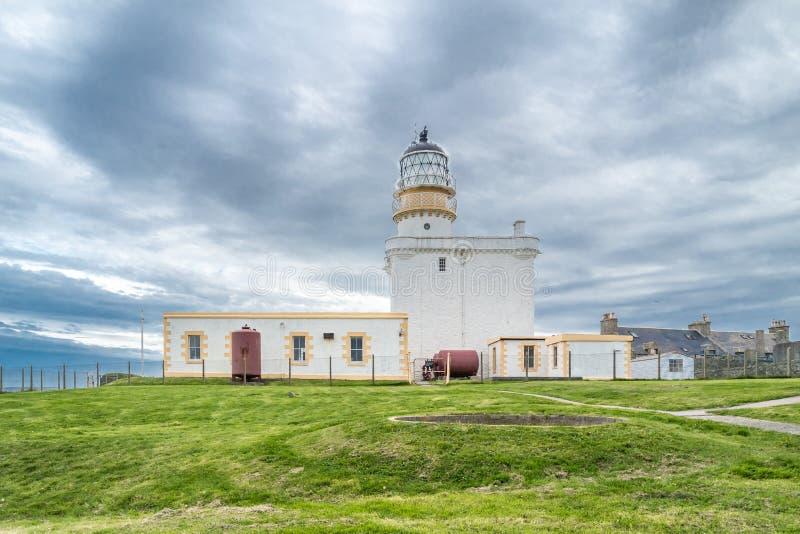 Latarnia morska w Fraserburgh, Szkocja obrazy stock