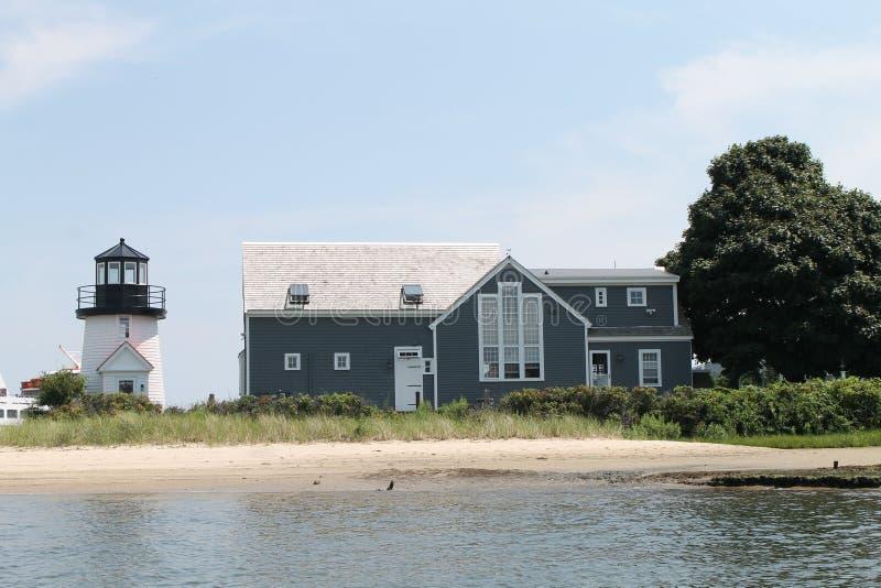 Latarnia morska w Hyannisport, Massachusetts obrazy royalty free