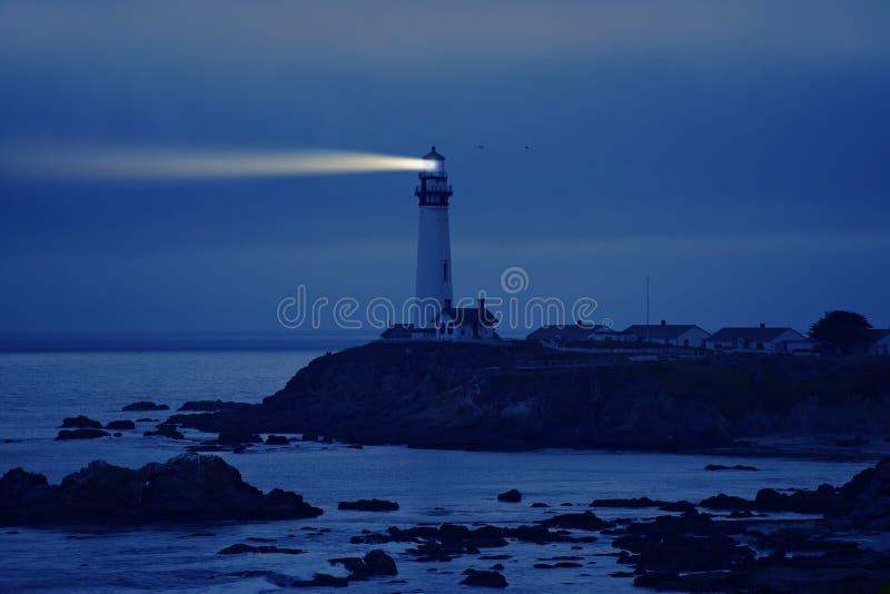 Latarnia morska w Kalifornia zdjęcia stock