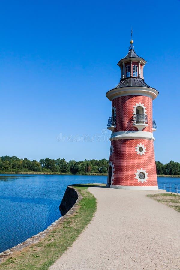 Latarnia morska w Moritzburg obrazy royalty free