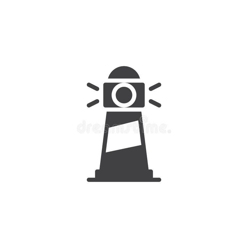 Latarnia morska wektoru ikona ilustracja wektor