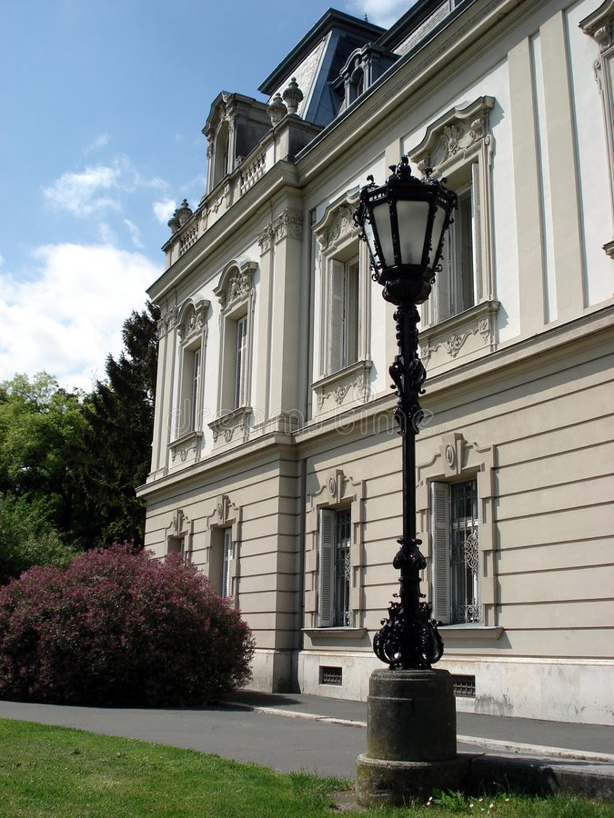 latarnia zamku obraz stock