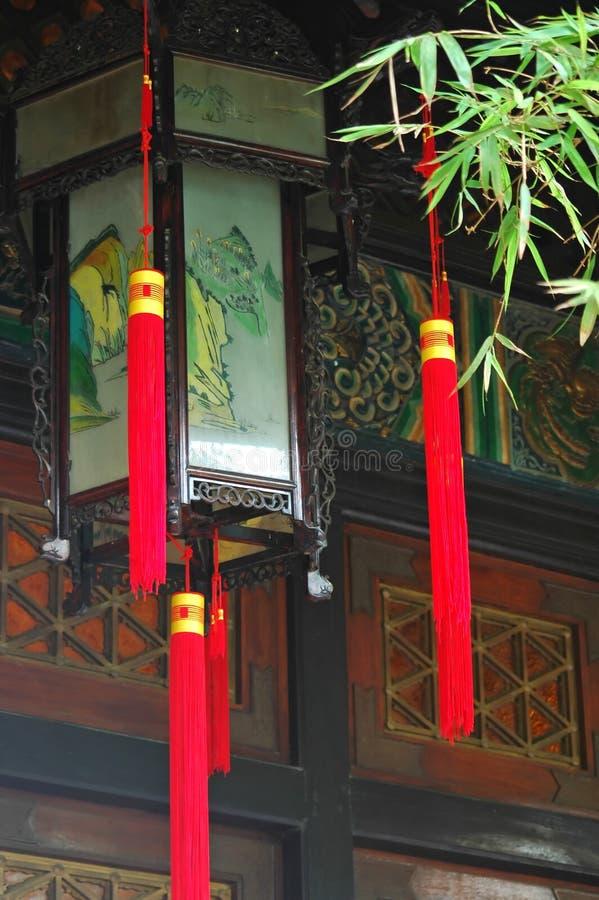 latarnie temple obraz royalty free
