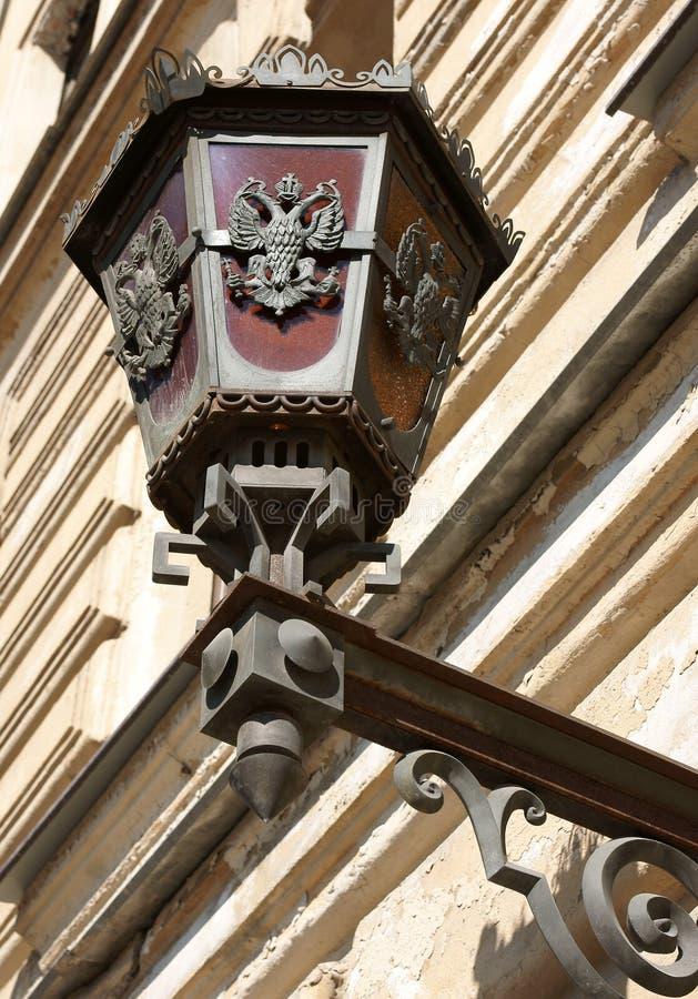 latarniowa Petersburg st ulica fotografia royalty free