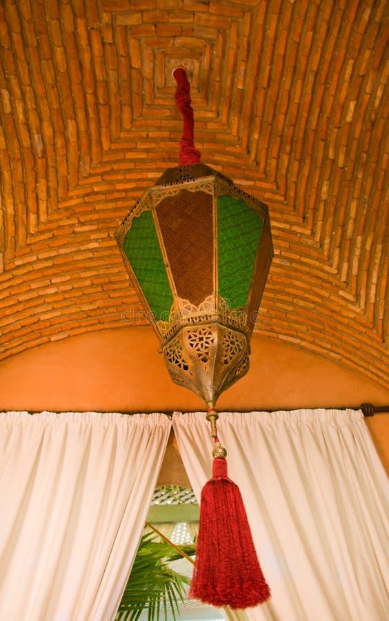 latarniowy moroccon zdjęcia stock