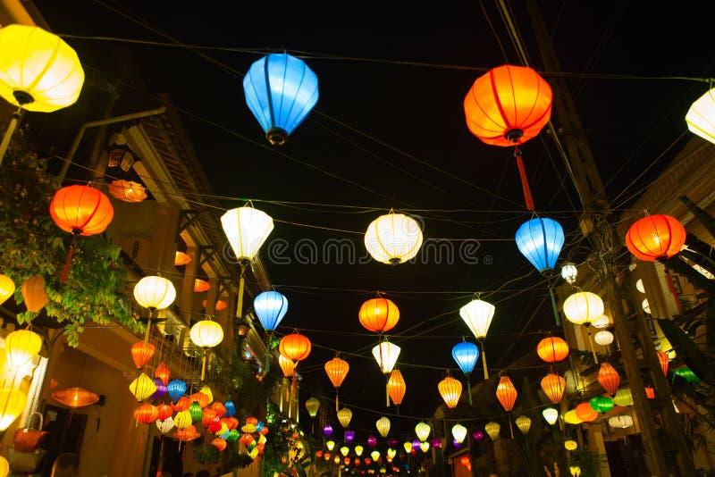 Latarniowy Vietnam zdjęcie royalty free