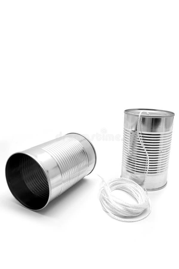 Download Latas e corda de estanho foto de stock. Imagem de vibração - 527686