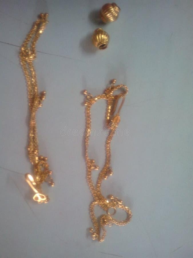 Latast-modals Gold stockbild