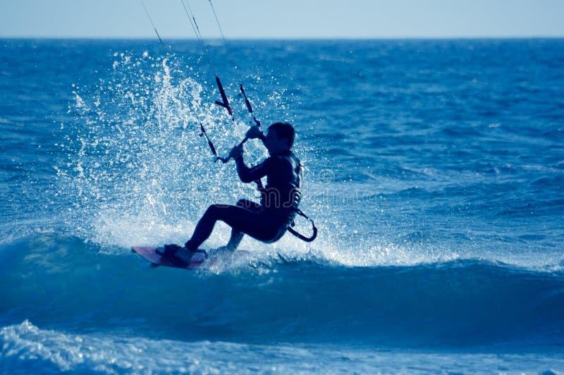 latawiec surfera fotografia royalty free