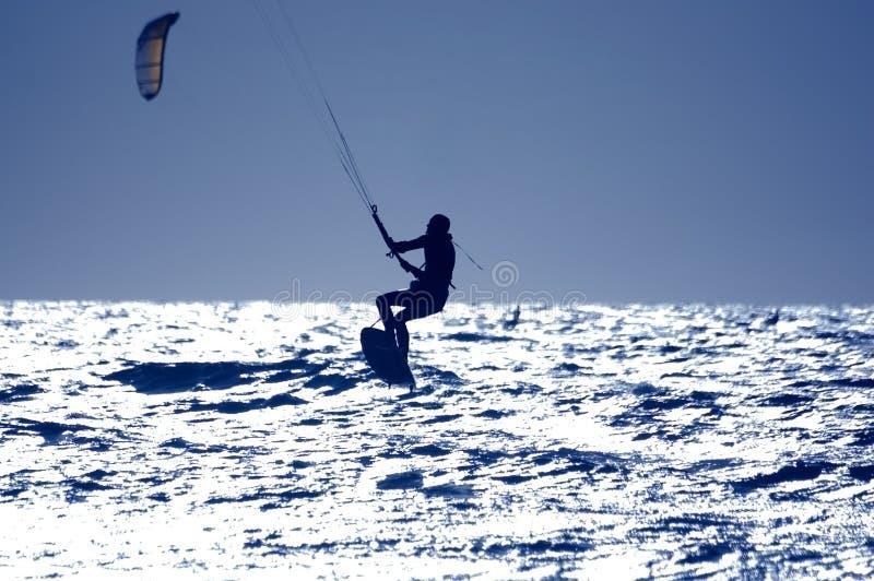 latawiec surfingu obrazy stock