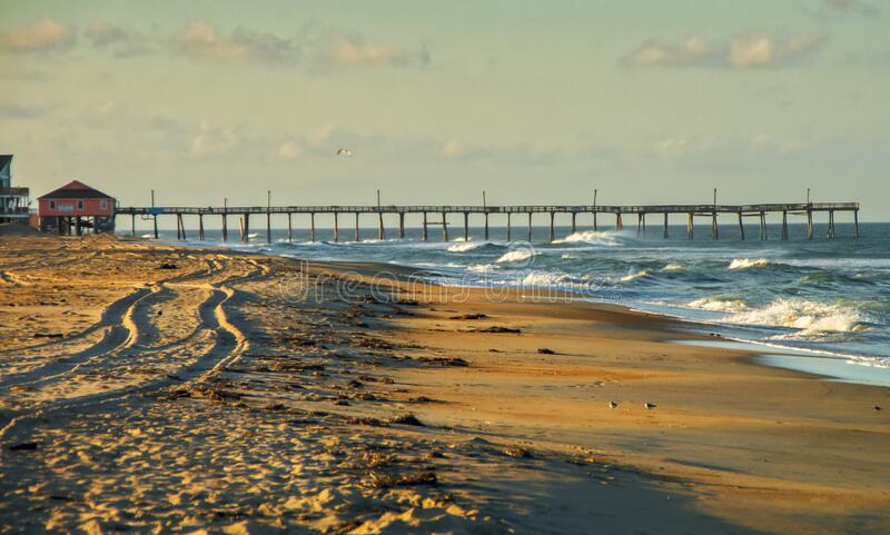 Late Afternoon on the Outer Banks stock images