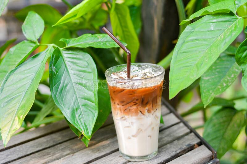Late Coffee North of Thailand royalty free stock image