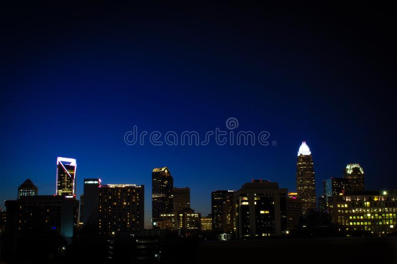 Dark Nights of Charlotte royalty free stock images