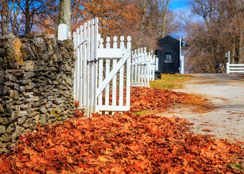 Download Late fall in Kentucky stock image. Image of traditional - 35632807