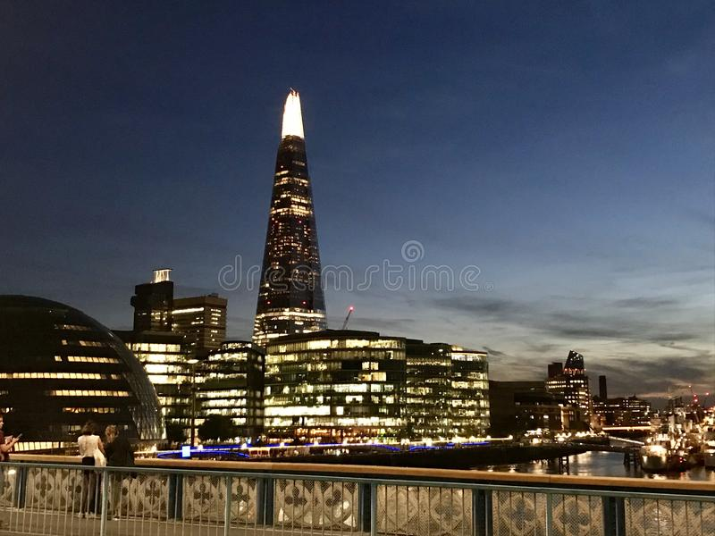 Late night London stock photos