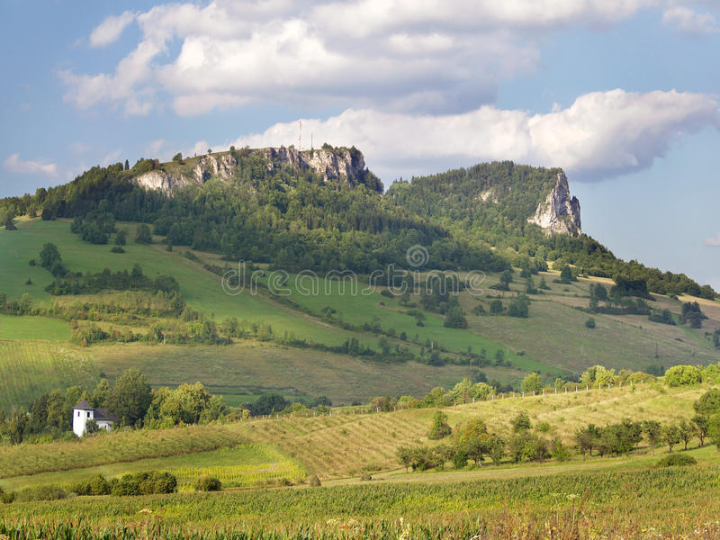 Rocks of Vysny Kubin (Vysnokubinske Skalky) royalty free stock images