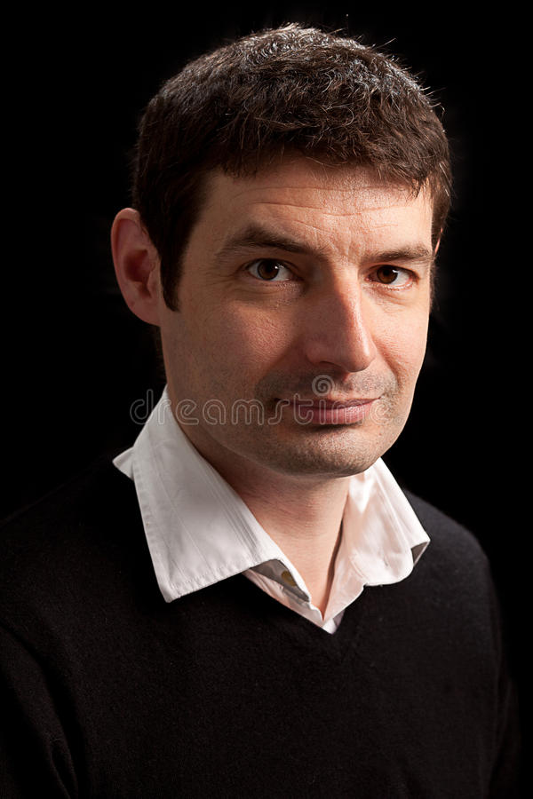 Download Late Thirties Male Portrait Stock Image - Image: 17955653