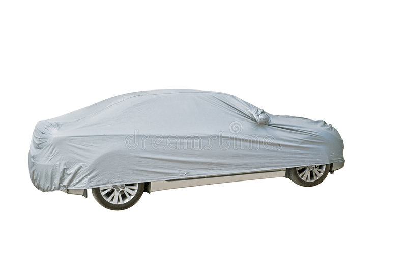 The latent image of the car. royalty free stock image