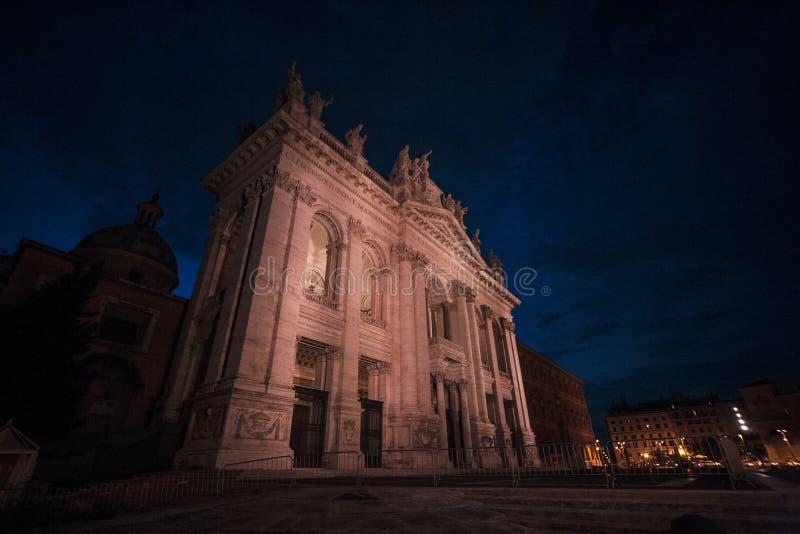 lateran ST John βασιλικών στοκ φωτογραφία