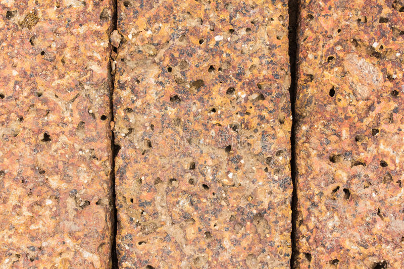 Laterite υπόβαθρο πετρών στοκ εικόνες με δικαίωμα ελεύθερης χρήσης