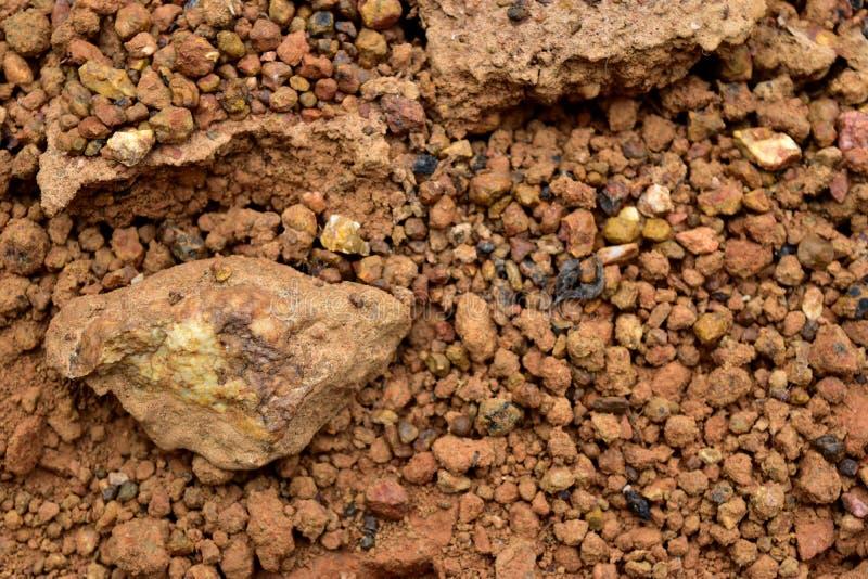 Laterite χώμα στοκ εικόνα με δικαίωμα ελεύθερης χρήσης