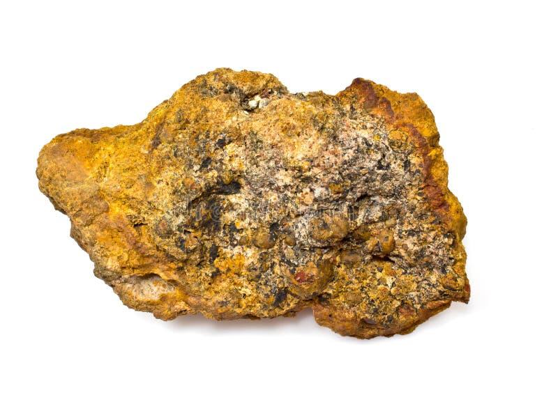 Laterite (minerale metallifero di alluminio) fotografie stock libere da diritti