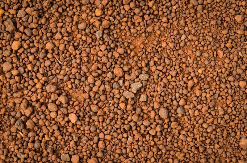 Lateritic текстура почвы, взгляд сверху стоковое фото rf