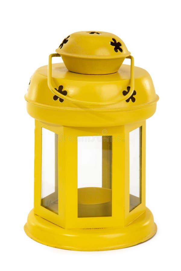 Latern amarillo fotografía de archivo libre de regalías