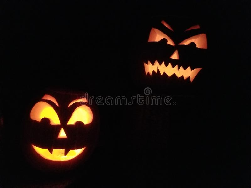Laterne Halloweens Jack O lizenzfreie stockbilder