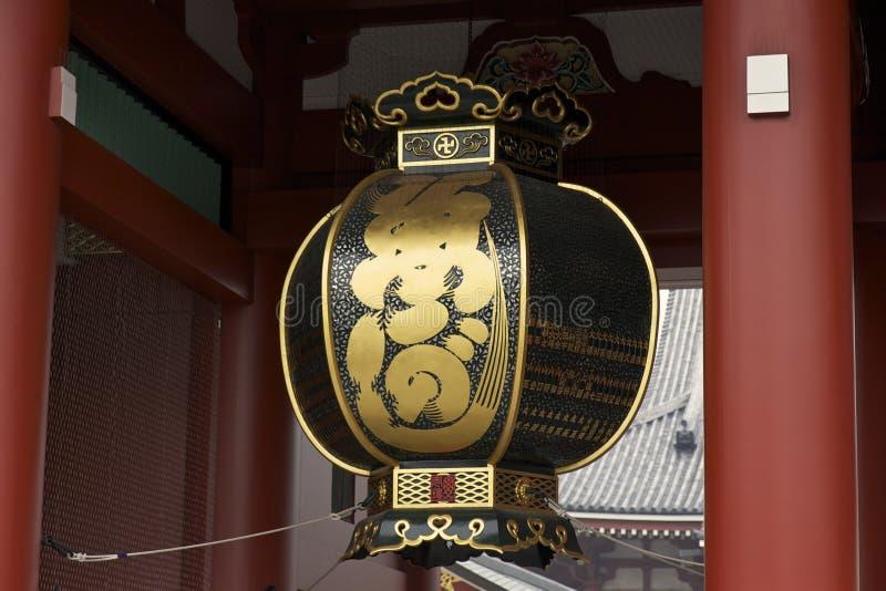 Laterne am Senso-ji Tempel, Asakusa Tokyo lizenzfreie stockfotografie