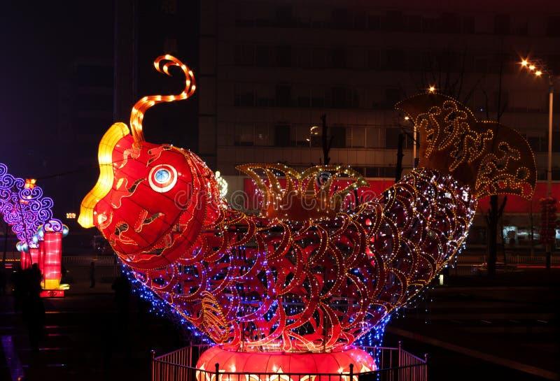 Laternen-Festival stockbild